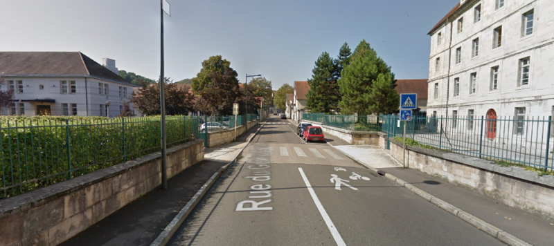 Entrée de Zone de Rencontre à Besançon